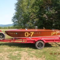 Original 1947 Pacific One Design Race Boat