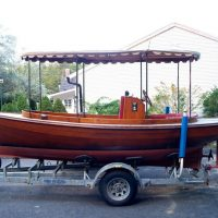 1983 John Crosby Yachts Fantail Launch